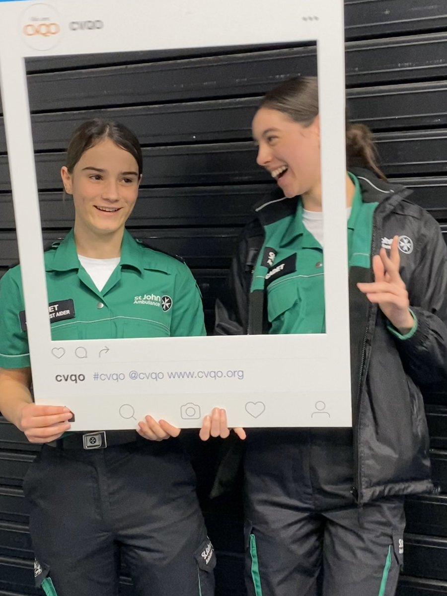 What a busy day we have had at the @CVQO weekend! Today has been filled with numerous activities and other learning opportunities. I think it's safe to say... I can't wait to get to bed 🤪 @stjohnambulance @SJAEastYouth #MySJADay