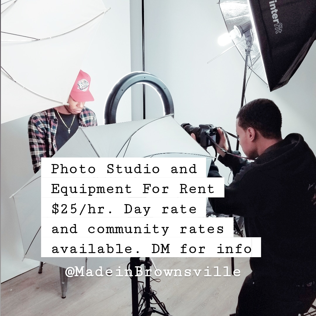 #Cowork with us. Affordable rates for equipment & photo studio time. Proceeds support our youth programs.   #photostudio #Brownsville #eastnewyork #photoediting #spaceforrent #photostudios #photography #photostudioforrent #eastflatbush #canarsie #bedstuy  #coworkingspacepic.twitter.com/eZY5QTI7J2