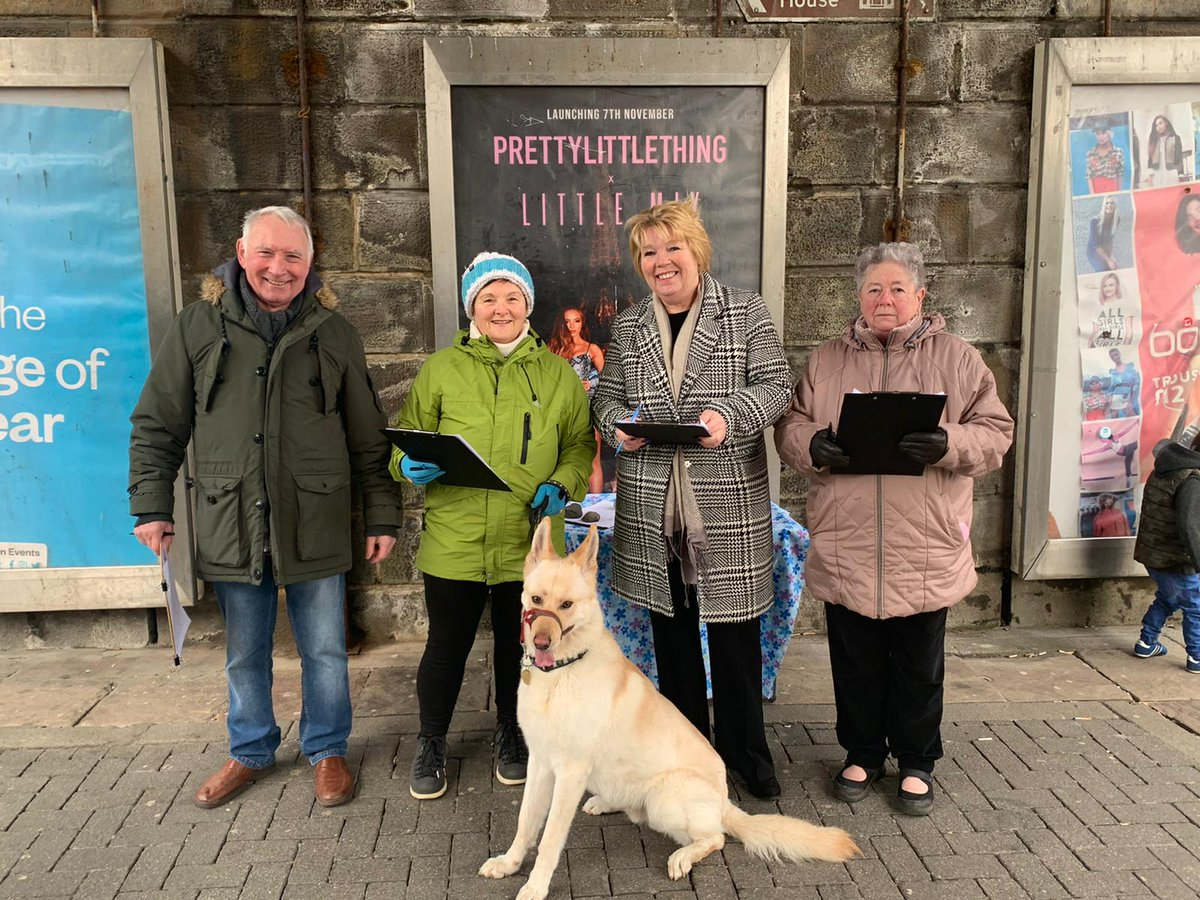 Great time in #SouthShields this afternoon collecting signatures towards saving the St Claire's building in #Jarrow to be used as #SouthTyneside Palliative Care. Thank you folks. Comment on this post if you live in South Tyneside and would like to help.  #TogetherWeCanDoThis