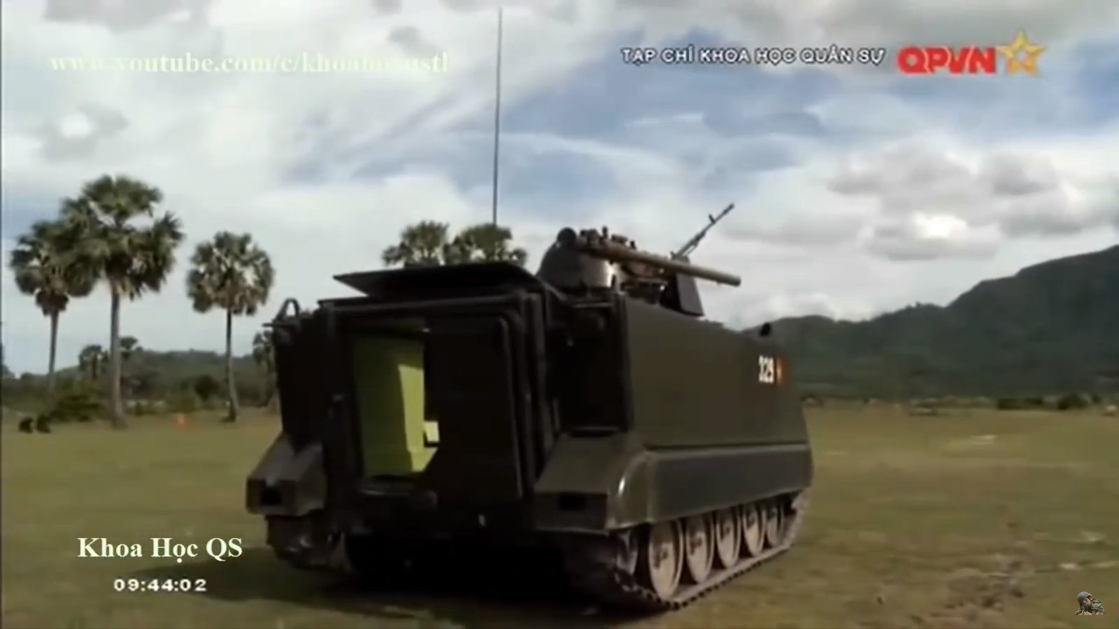 Американски БТР М113, оборудвани със съветско оръжие във Виетнам /ВИДЕО / СНИМКИ/