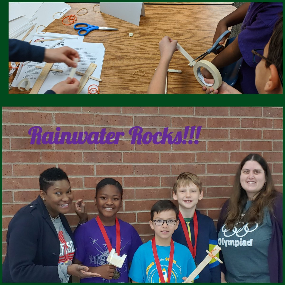 I am so proud of my students! They worked really hard and came in second place in our division at @CFBISD Academic Olympiad!  @CFBRainwater @DrThomasCFB @mrs_mcelveen @DrChapmanCFBISD #RainwaterRocks #BeTheException https://t.co/7I7Yo0MwEU