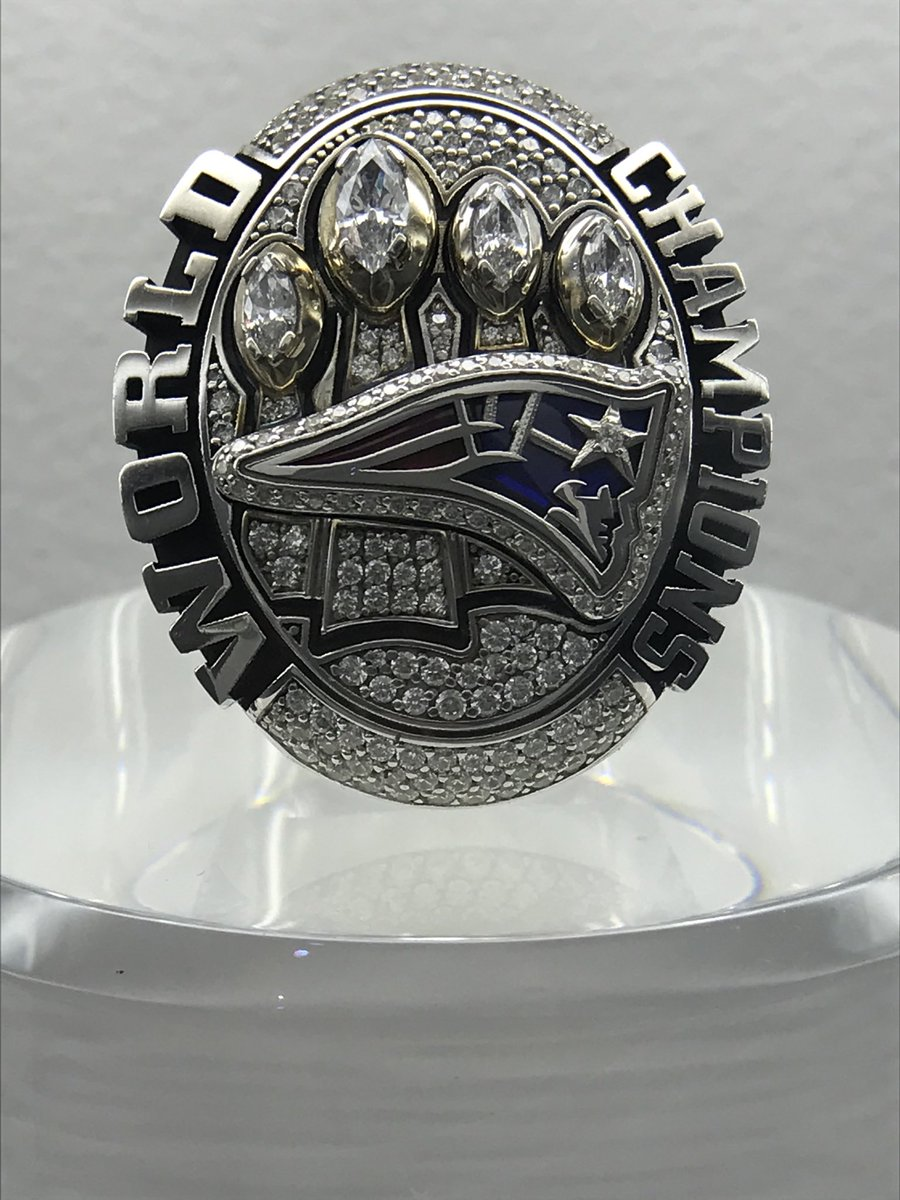 As the clock ticks down to Superbowl LIV who will be the proud owners of a winners ring? #SLIV @nfl