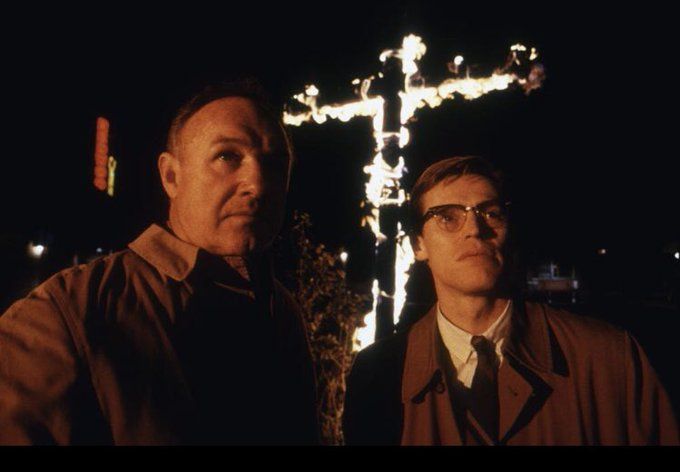 Happy 90th birthday Gene Hackman! MISSISSIPPI BURNING (1988) Classic movie directed by Alan Parker.