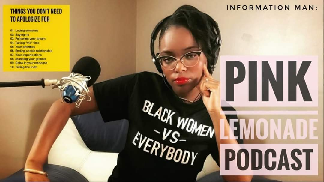 """Information Man Show  Watch """"Conversation With Pink Lemonade Podcast Self-Help PODCAST"""" on YouTube - Click the link https://youtu.be/1h8vraYeTXE"""