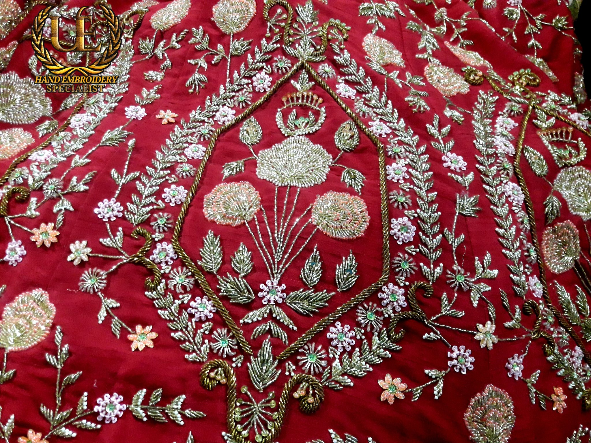 hand embroidery specialist on Twitter