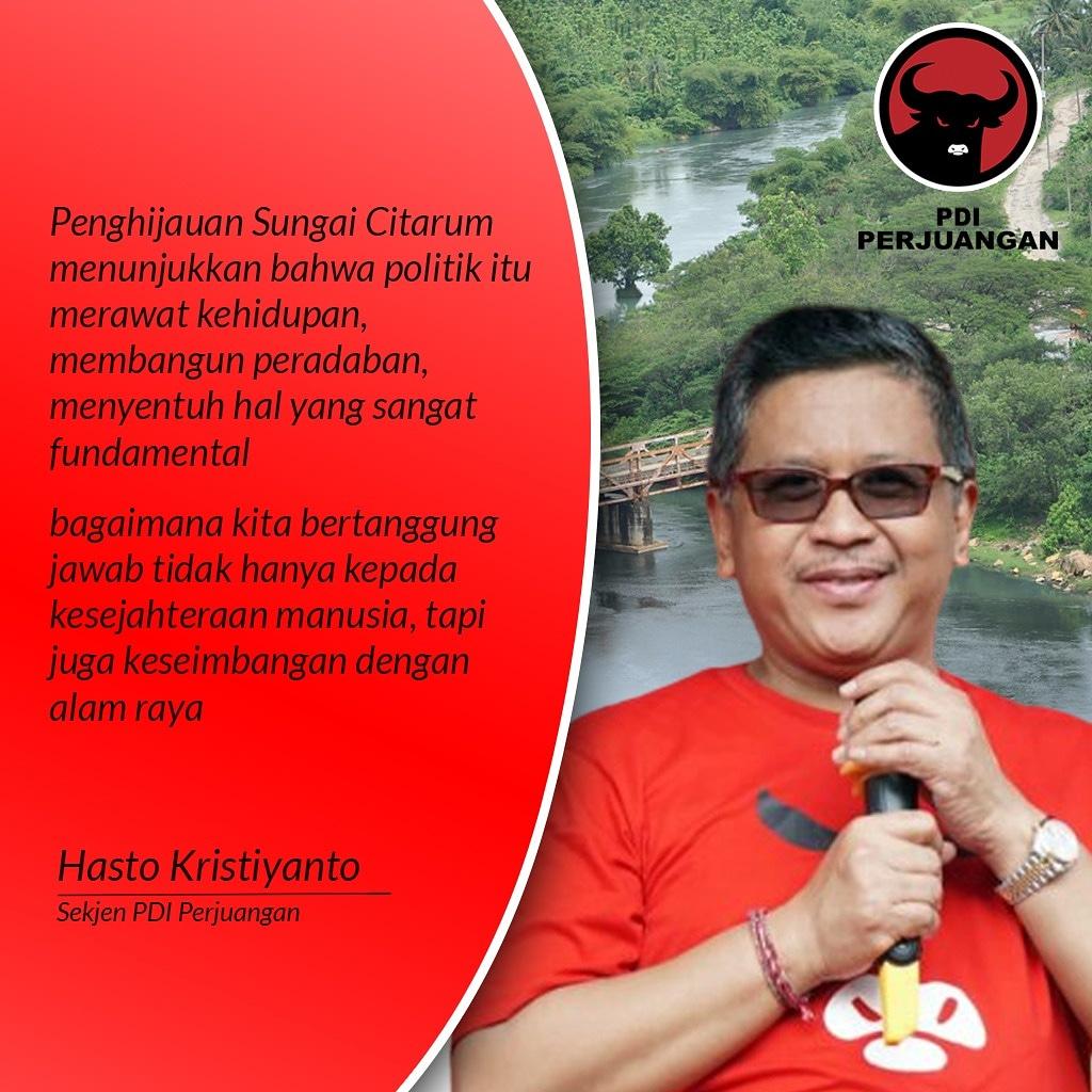 Selamat pagi, mari jaga dan cintai bumi kita #PDIPCintaiBumi @pdiperjuangan @megawati.soekarnoputri @mas_prananda @puanmaharaniri @sekjenpdiperjuangan #politikindonesia #politiksantun #politikbudaya #circledecorps  Merdeka!!!pic.twitter.com/tbRr7cOat5
