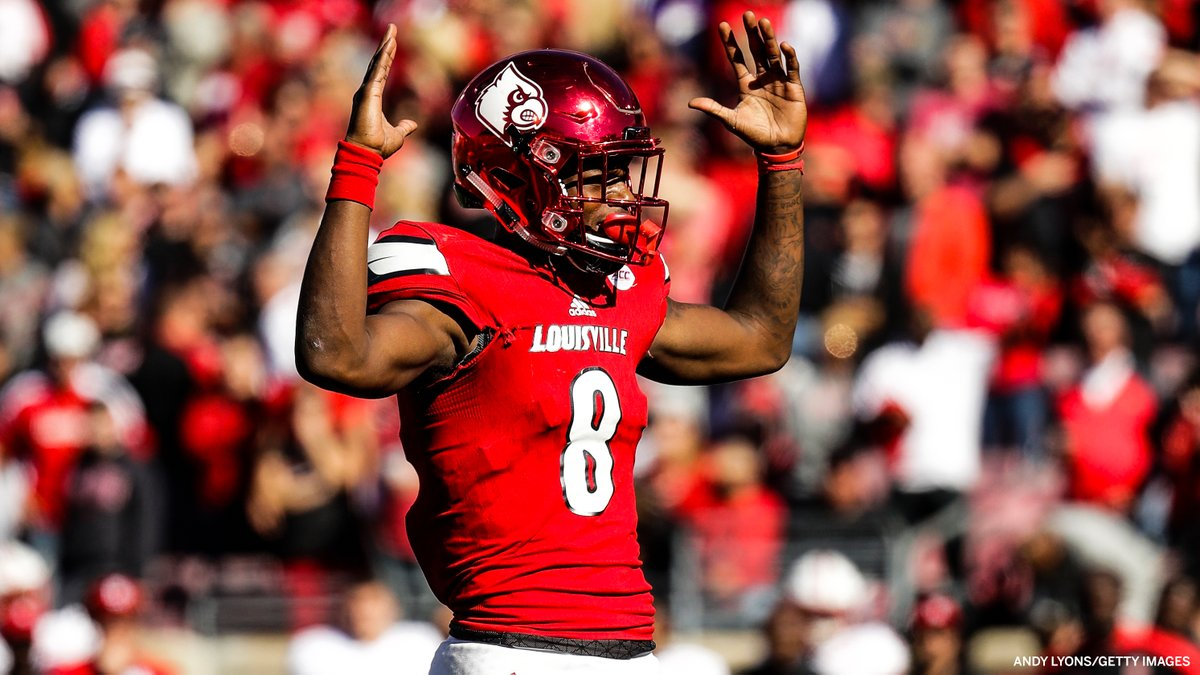 Lamar Jackson: 2016 Heisman Trophy winner ➡️ 2019 unanimous NFL MVP 🏆