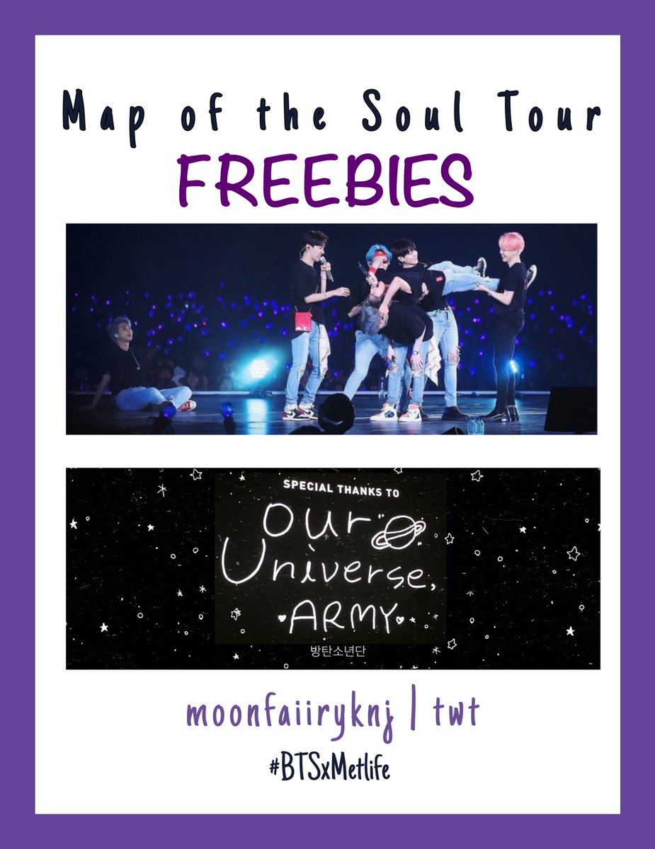 BTS Giveaway + Freebies ★彡  🥰 Slogans & Photocards (2)  🏟 MetLife Stadium  📍23-24 May 2020 🎨 @moonfaiiryknj   rt,like,follow & read more below about trades and reserves!!   #BTSxMETLIFE #MapOfTheSoulTour #BTS https://t.co/rHyuaGZf3x