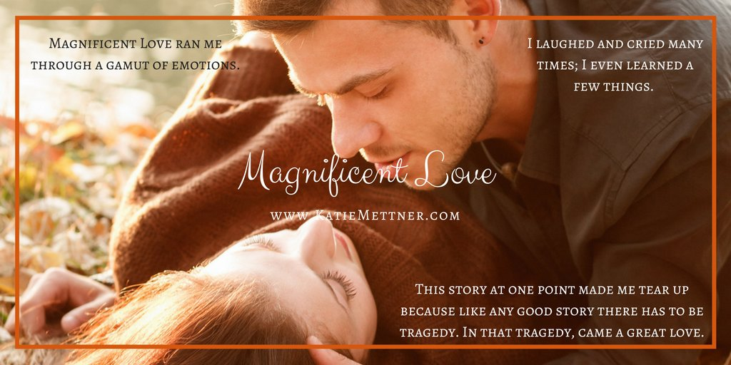 They've denied their own needs for those of their families, but this winter, everything will change. When spring returns to Magnificent, Eve & Abraham will discover the most magnificent love of all. http://myBook.to/ML #KU #romancereaders  #romancenovels