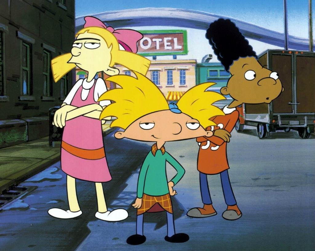 hey arnold characters - HD1024×815