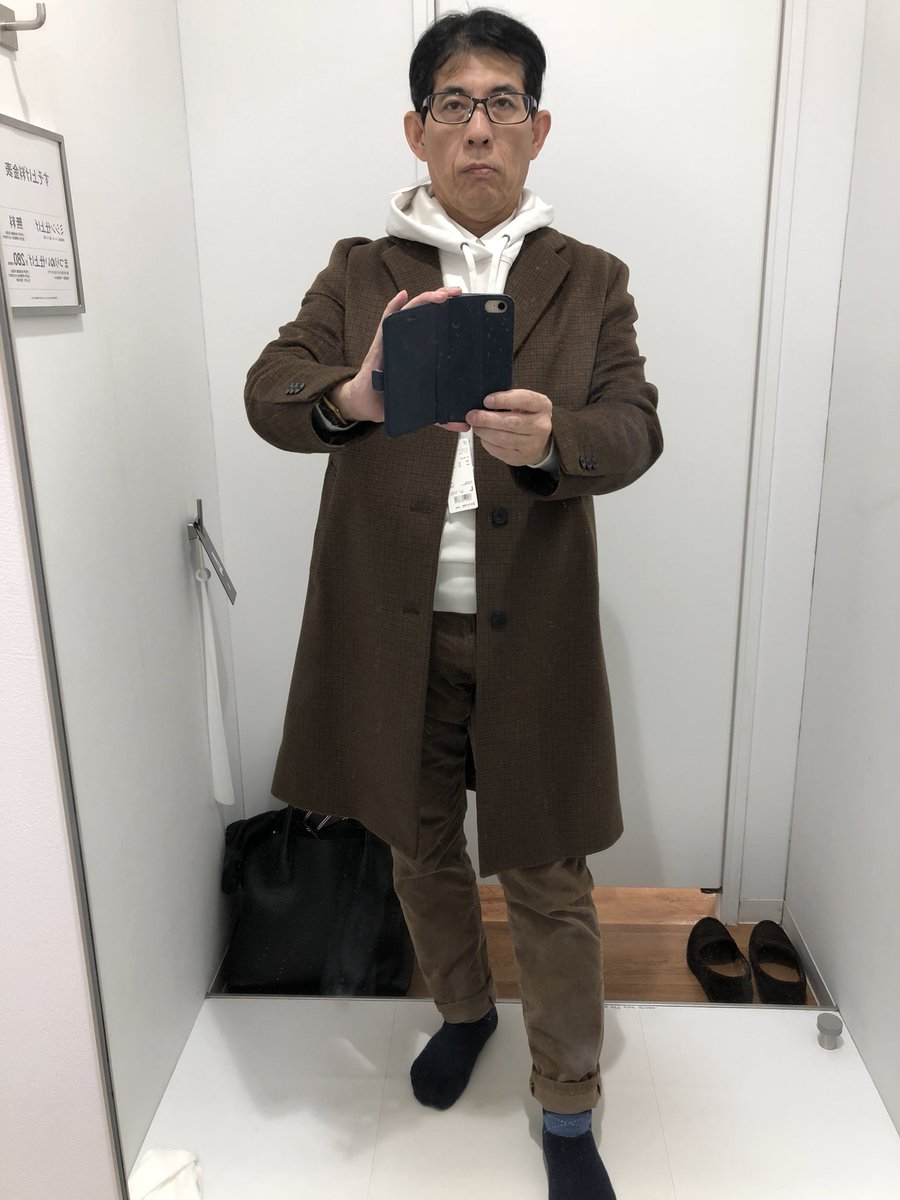 あり?なし?おじさんがUNIQLOのモデルと同じ服を着てみた結果!