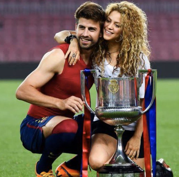 Happy birthday to the greatest couple   33 and 43 Pique and Shakira