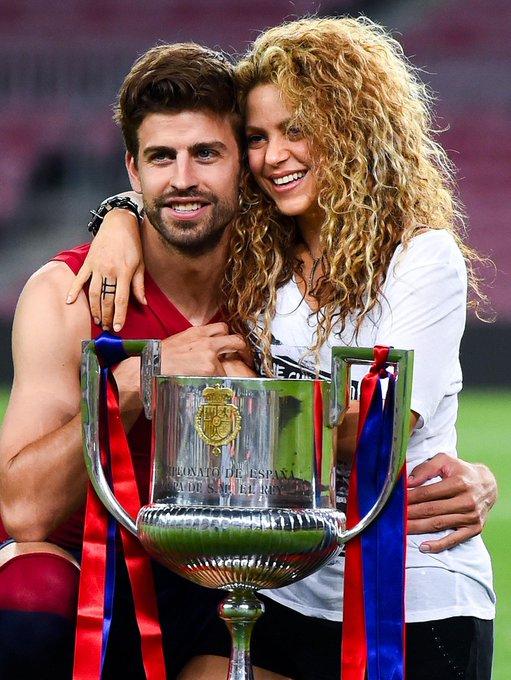 """02.02.2020 Happy Birthday \""""Pique\"""" yang ke 33 tahun dan sang istri \""""Shakira\"""" yang ke 43 tahun"""