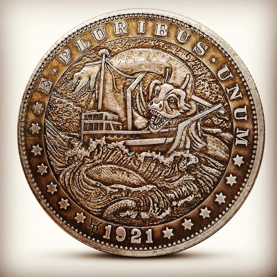 Buy hobo nickel coin my bio @gameofthrones #skullcollector#skullobsessed#skullcoin#coinart#skulleveryday#skulljewellery #coinart#hobocoin#coin#oneofakind#silvercoin#coins#hobonickels#hobonickel#hobonickelcarving#coincollection#edcporn#gameofthrones #thevikingspic.twitter.com/cpL7sanZmv