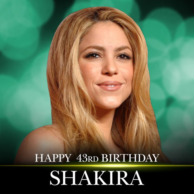 Happy birthday to singer Shakira! We can\t wait to see her perform in the Super Bowl Half-Time Show.