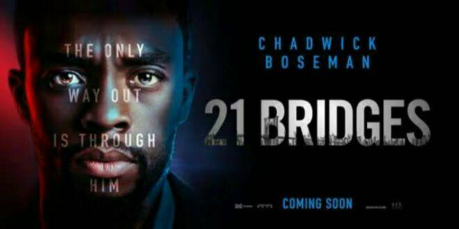 21 Bridges  After uncovering a massive conspiracy, an embattled NYPD detective joins a citywide manhunt for two young cop killers. As the night unfolds, he soon becomes unsure of who to pursue -- and who's in pursuit of him.   #movies #21Bridgespic.twitter.com/b3lhh4Jwow