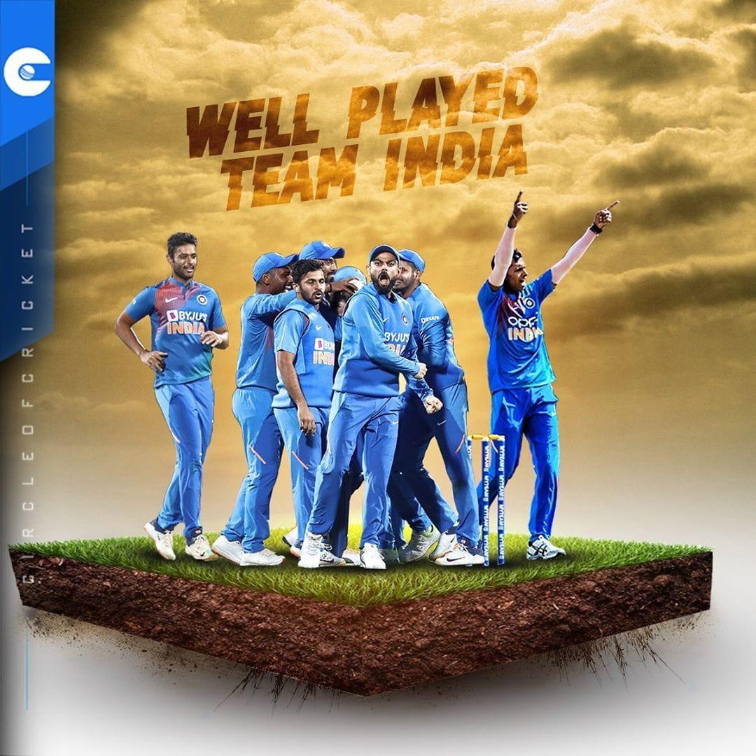 Team India faced a great and incredible victory under Virat Kohli's captaincy   Well Done #TeamIndia  @imVkohli @ImRo45 @klrahul11 @ShreyasIyer15 @imjadeja @Jaspritbumrah93  #INDvsNZt20 #IndiaVSNewZEaland #ViratKohli #KingKohli #Cricket<br>http://pic.twitter.com/gMpso8Fwy2