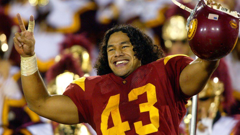 "Was scouting for @Patriots the year Troy Polamalu came out of USC.  I put a grade on him at top of our scale that was rarely ever used.  Remember my boss jokingly saying, ""Don't put the guy in Canton"".  Never scouted a player as fun to watch on tape as Polamalu.  Congrats, Troy! https://t.co/mmitOojuYm"