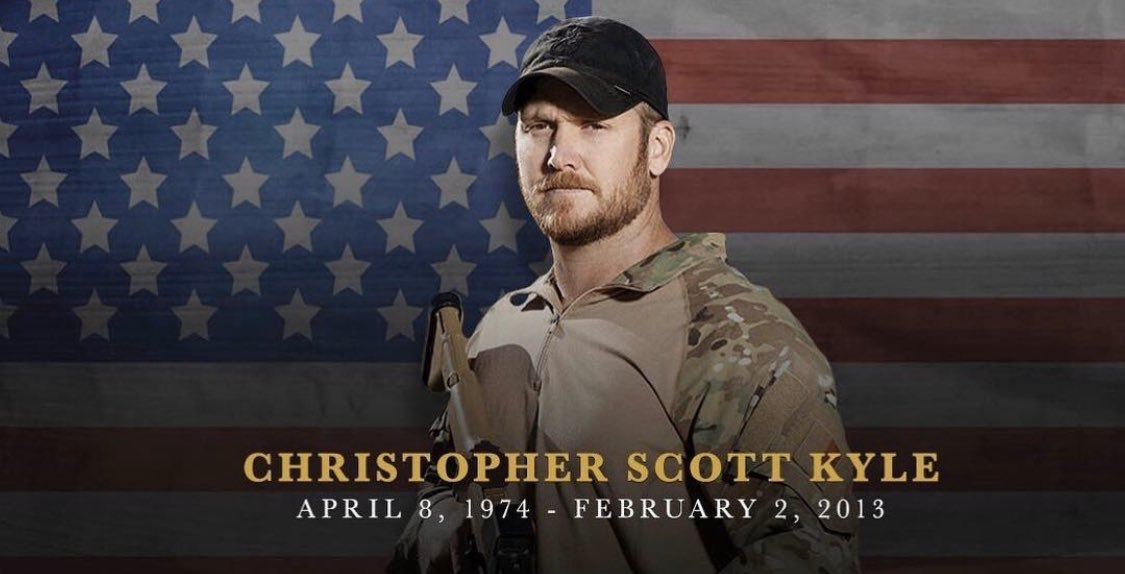 Replying to @forgedclothing: We Will Never Forget. 02.02.2013 🇺🇸 #TheLegend #AmericanSniper #ChrisKyleDay #LLTB