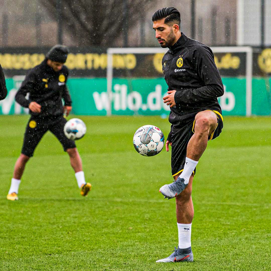 First session ✅😁 #EC27 #BVB #weCan
