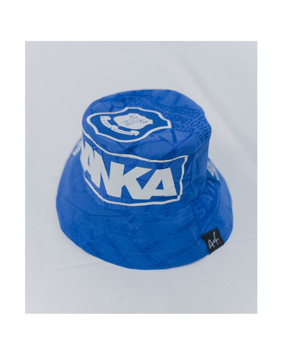 Art Of Football On Twitter 1 1 Everton Bucket Hat Cut And Sewn From A Classic Shirt Hand Made By Art Of Football Available Next Friday