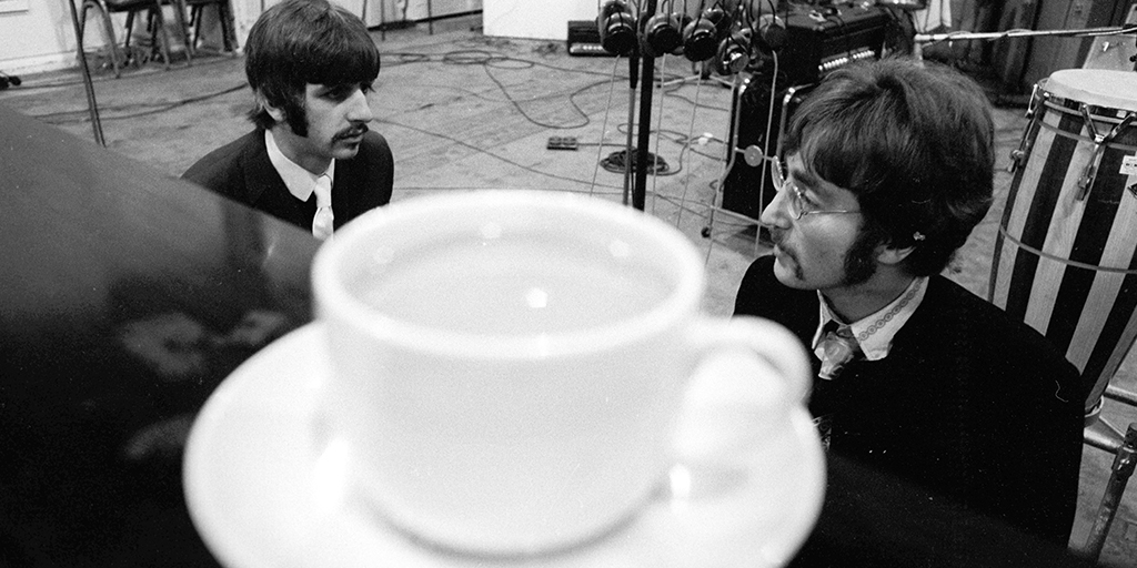"""""""Anything could happen, and that was an exciting process. I got to hang out and listen to it unfolding."""" - Ringo"""