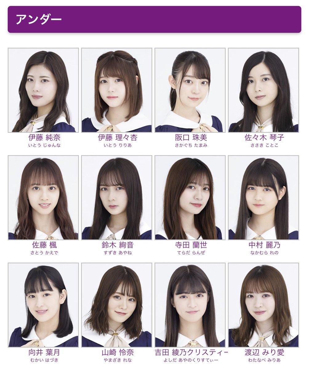 目 選抜 25 枚 乃木坂