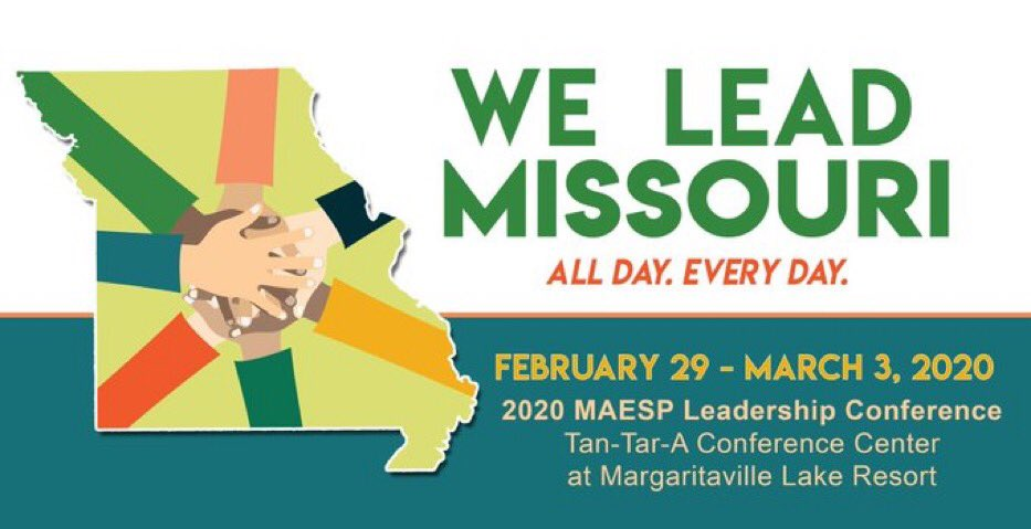 Be there! #WeLeadMO Have you invited a colleague?