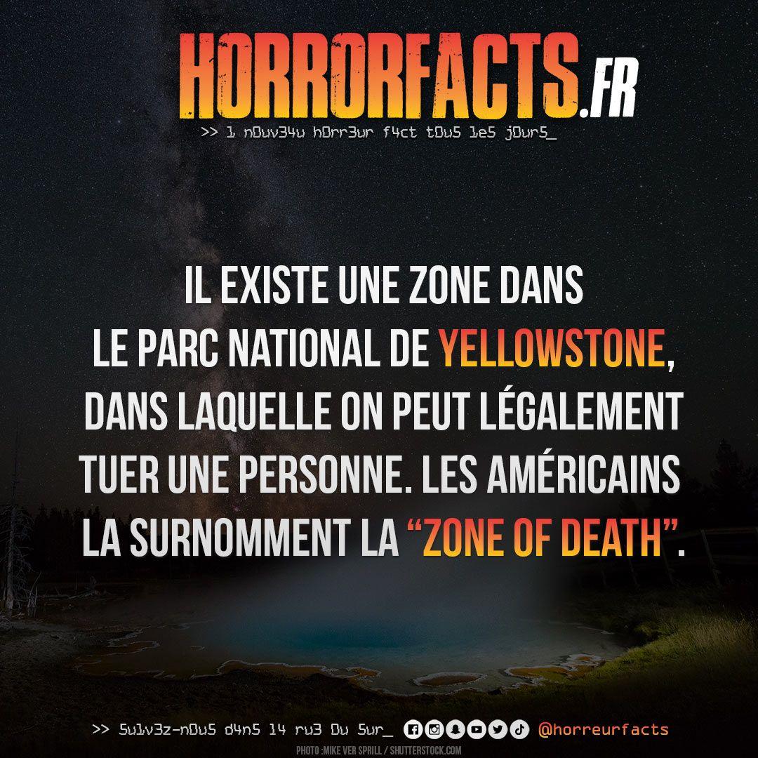 Le bon plan vacances ! #yellowstone #etatsunis #zoneofdeath #parcnational #usa #meurtre #tueur #loi #lesaviezvous #horreur #horreurs #horreurfact #horreurfacts #horrorfact #horrorfacts #filmdhorreur #filmhorreur #filmsdhorreur #horreurfans #horreurqc #histoirehorreurpic.twitter.com/aVuiYPXibx