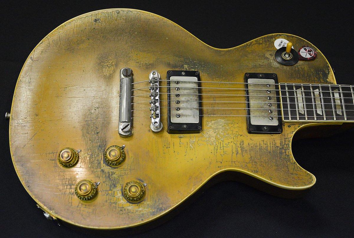 Snowy White's Gibson 57 Les Paul Goldtop #guitar https://t.co/7osLzMFfvo