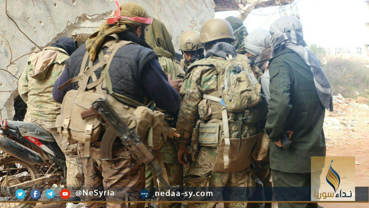 Сирия. Бои в провинциях Идлиб и Алеппо