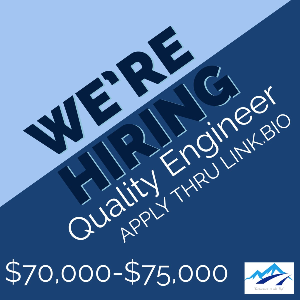 LeConte Recruiting Firm is currently seeking a Quality Engineer for a manufacturing company in North Carolina.   #leconterecruiting #engineeringjobs #engineeringcareers #wearehiring #careergoals #engineeringpost #engineers #womenintech #femaleengineerspic.twitter.com/w3ef1WmScc