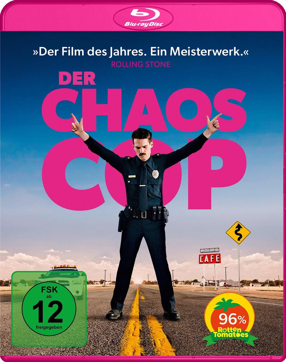 I just got sent this by @PMarmelade. In Germany, I am, The Chaos Cop.