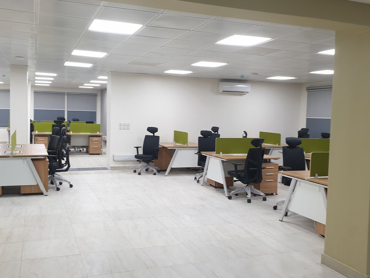 Check out more workspace pictures of our new HQ. #SystemSpecs #NewBeginning
