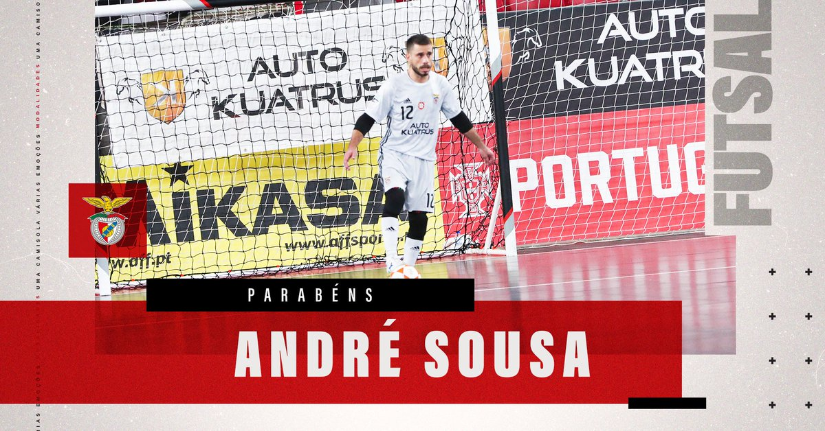 🎉 🎂 Feliz aniversário, André Sousa!  #SóHáUmBenfica