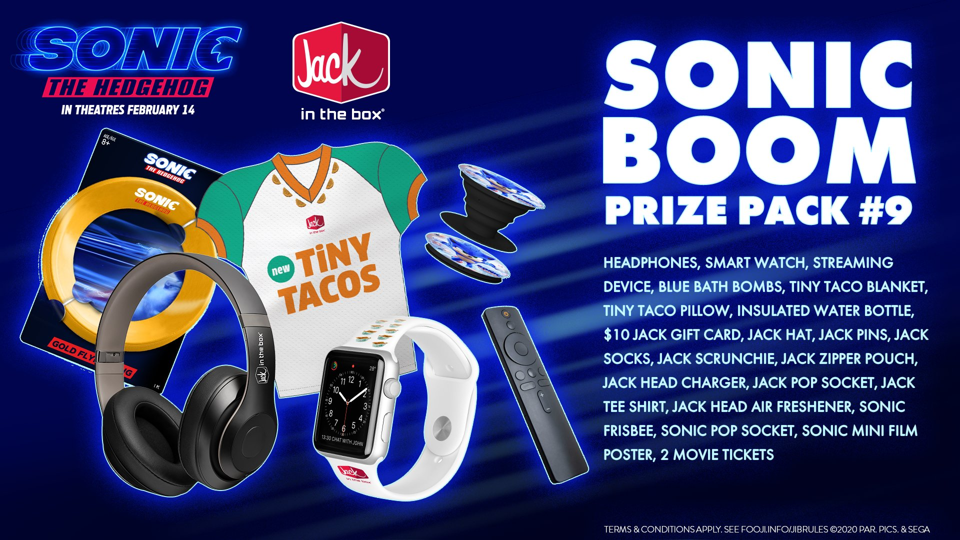 Jack In The Box On Twitter We Re About Halfway Through The Prizes Will Only Get Bigger As The Game Goes On Tiny Tacos Will Stay The Same Size Though Tweet Jackstinytacos