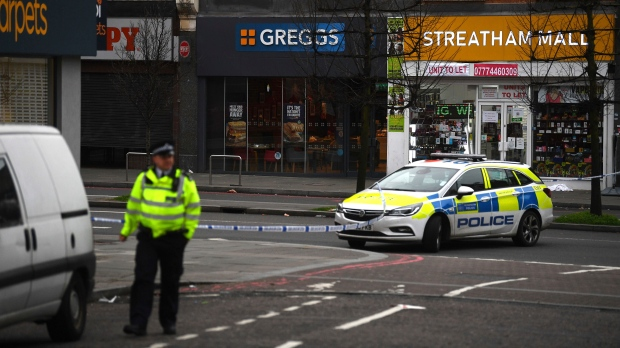 London police: 3 wounded in 'terrorism-related' stabbings