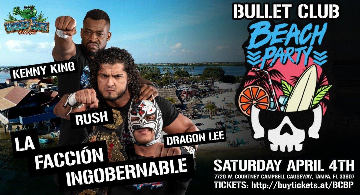 La Facción Ingobernable Coming To The Bullet Club Beach Party