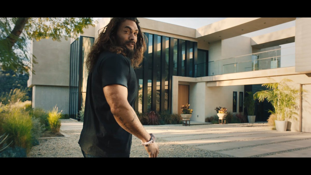 Home. Where comfortable means no shoes, no wig, and no … ? 🤔   See how Jason Momoa gets comfortable at home and how we can help you #GetComfortable financing one.