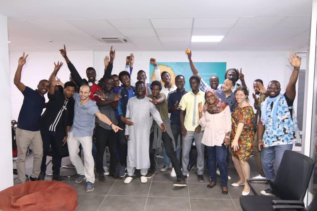 1ère #GgJd Dakar ! 4 jeux extra développés en 48h! Bravo aux participants!  De la 3D, de la 2D, des univers déments ! La Teranga sera un acteur moteur du gaming Afrique! @AcademySonatel @TerangaTech @FranceoSenegal @helloyux @KayfoGames @IFSenegal @IFParis Li ci kanam mo dakhe !