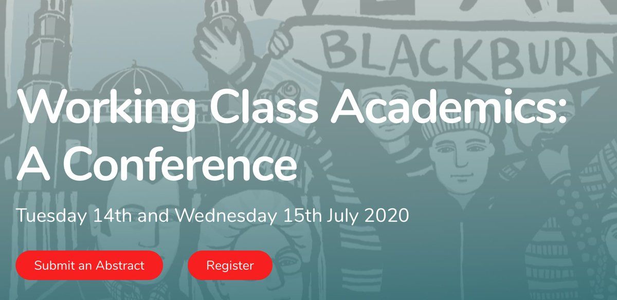 The Working Class Academics Conference is now open for submissions and registrations - visit the website, check out the call for papers, send us questions, get involved in this great event we will build together https://t.co/Hq8KT4ToCs https://t.co/eMem0PwjQ2