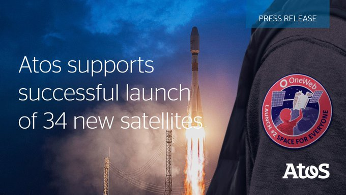 We are happy to support@OneWeband its mega-constellation program in the successful launch of...