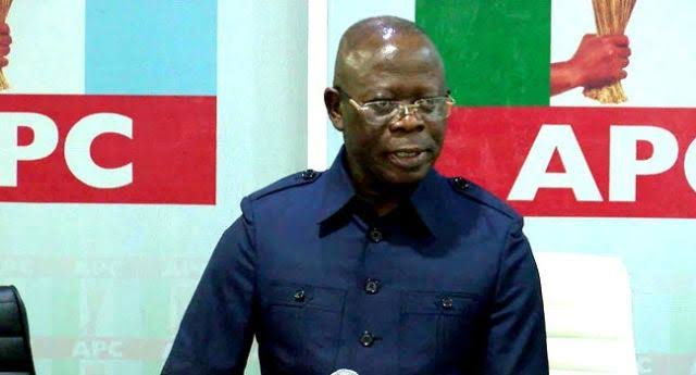Again, protesters storm APC headquarters, demand Oshiomhole's removal https://thecitypulsenews.com/again-protesters-storm-apc-headquarters-demand-oshiomholes-removal/ …pic.twitter.com/gISm5LHAda