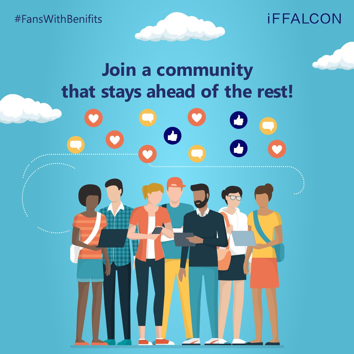 From content that keeps you on top of entertainment tech trends to contests with exciting prizes, iFFALCON users enjoy it all.   Join the iFFALCON fan page and you too can get a chance to win some smart giveaways.  So, what are you waiting for?  #FansWithBenefits #iFFALCON  #AITVpic.twitter.com/qqGVTn1F2e
