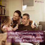 Image for the Tweet beginning: This Friday is National Caregivers