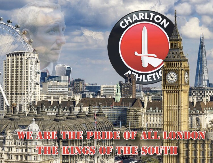 There is no denying it..WE ARE PRIDE OF ALL LONDON AND WE ARE THE KINGS OF THE SOUTH#CAFC #CPFC #MFC #CFC #AFC #THFC #WHUFC #FFC #AFCW
