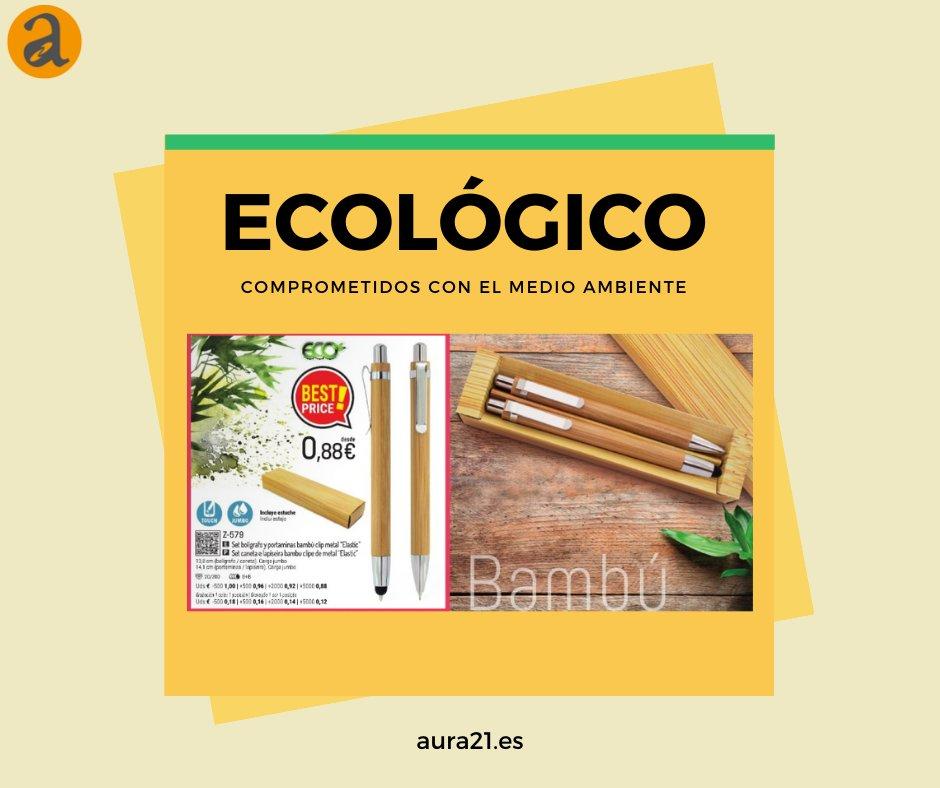 ¿Quieres reducir tu consumo de plástico? Visita nuestra web de http://aura21.es para ver nuestro catálogo de productos ecológicos o infórmate sobre el tema en http://laguiadelregalopromocional.org  #ecofriendly #ecotips #menosplástico  #regalopromocional  #detallespersonalizados pic.twitter.com/JxnzJluXRj