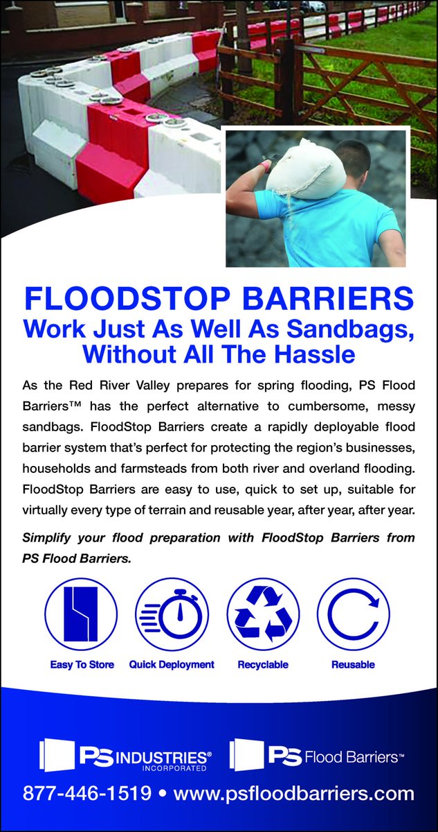 Are you sick of sandbags?  Check out our recyclable and reusable FloodStop Barrier, a way to protect your home or business from the raising flood waters without the hassle of sandbags.  Check them out here: https://www.psfloodbarriers.com/floodstop-barriers/…  #floodprotection #floodstopbarrier #floodbarrier pic.twitter.com/QMLO7GE65o