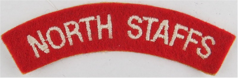 North Staffs (North Staffordshire Regiment) White On Red  Embroidered Sew-on Army cloth shoulder title  £5.00 https://www.kellybadges.co.uk/shoulder-titles-sew-on-army-cloth-shoulder-titles/34843-north-staffs-north-staffordshire-regiment-white-on-red--embroidered-sew-on-army-cloth-shoulder-title.html …pic.twitter.com/YfuzUDpiAz
