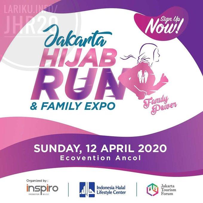 Jakarta Hijab Run • 2020